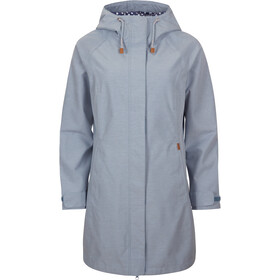 Elkline Offline Rain Coat Damen blue-denim